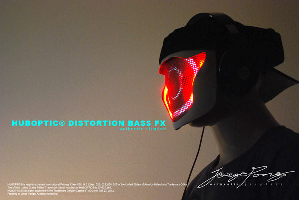 HUBOPTIC® DISTORTION BASS FX MASK