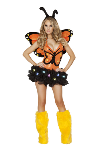 Monarch Butterfly with tutu Costume Front