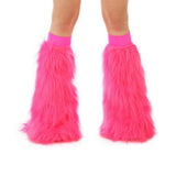 Hot Pink Fluffies with Hot Pink Bands