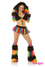Rainbow Crush Outfit  Black with Candy Jacket