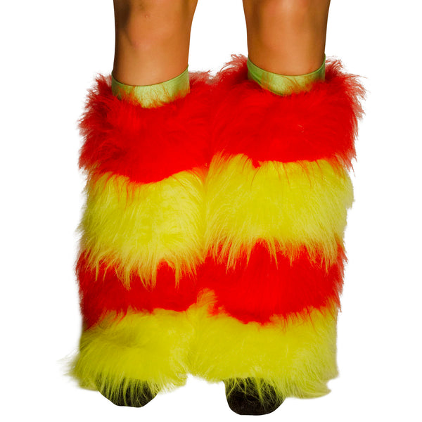 Red & Yellow striped Fluffies