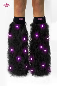 Black Light-Up Fluffies
