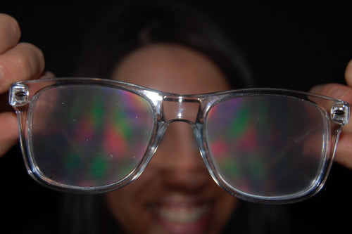 Clear Rave Glasses