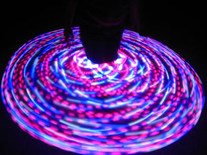 Neon Hummingbird LED Hula Hoop