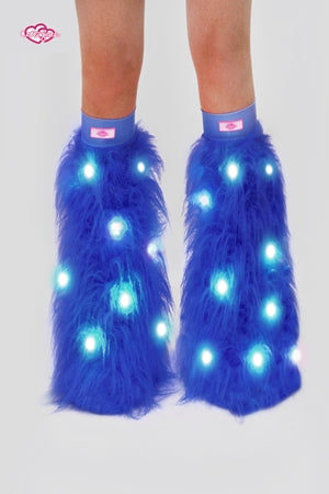 Blue Light-Up Fluffies