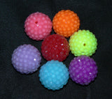 Brightly Colored Disco Beads