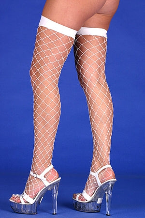 Fishnet Tights- White