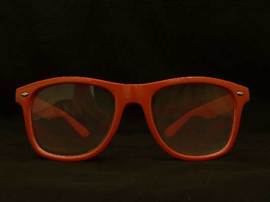 Rainbow Diffraction Vision Glasses Orange