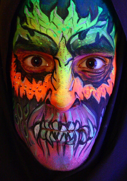 Neon and UV Reactive Face Paints 32g