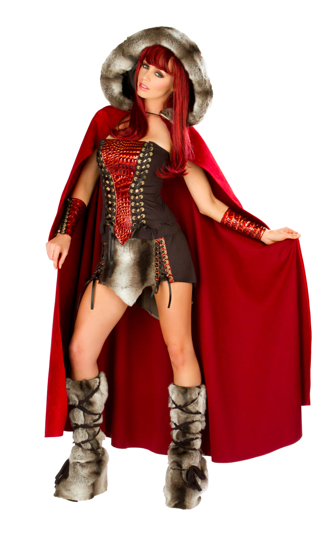 Dragon Slayer Rave Costume Front with Cape