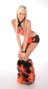 Geo Outfit Black and Orange 3
