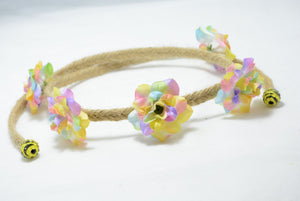 sherbet rose wedding crown