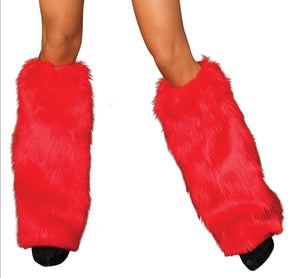 Red Leg Warmers