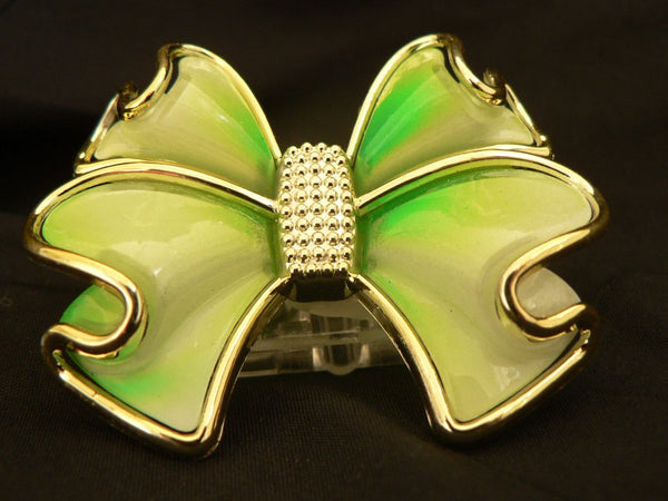 led bow green