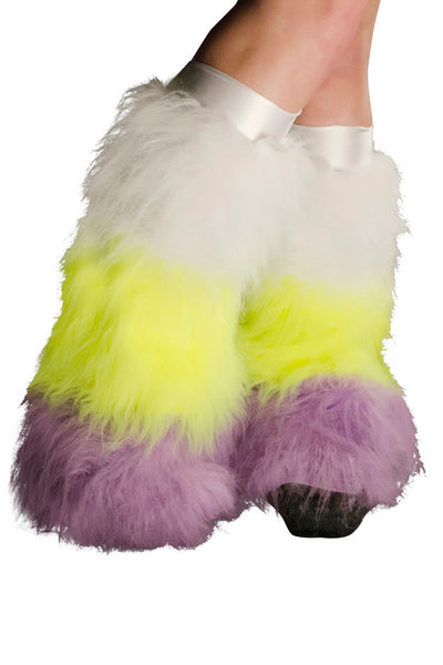 White, Yellow, & Lilac Fluffies 3