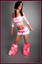 Atomic Blast White & Pink Outfit