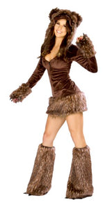 Teddy Bear Rave Costume Front