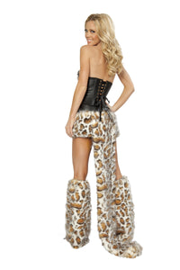 Frisky Kitty Rave Costume Back