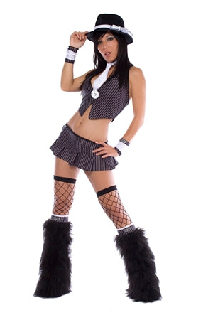 Gangster Halloween Rave Outfit