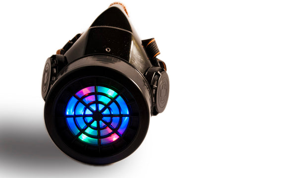 LED Gas Mask - RGB LED