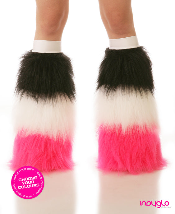 Tri Striped Rave Fluffies