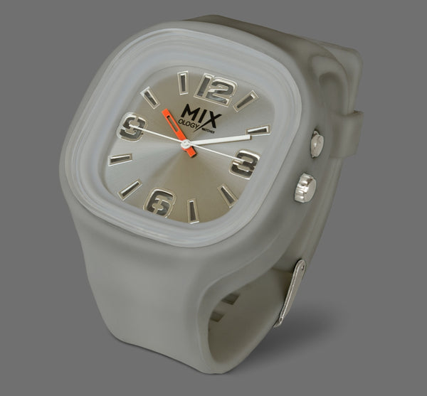 LED watch- Grey with Grey
