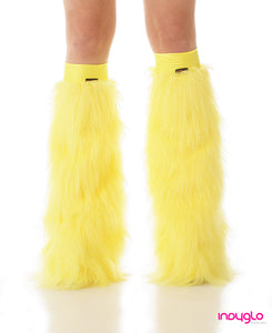 Flo Yellow  Leg Warmers