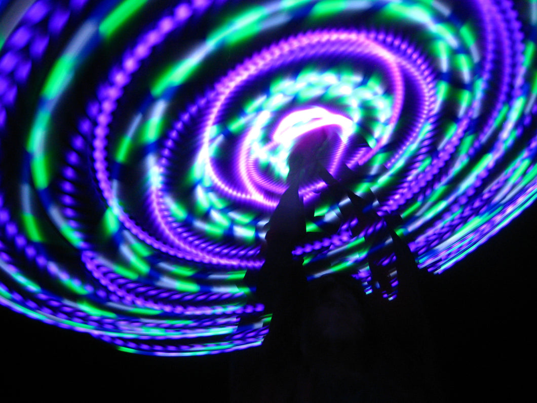Pixie Dust LED Hula Hoop