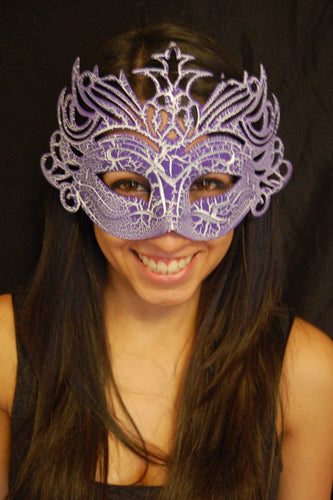 Masquerade Mask- Purple