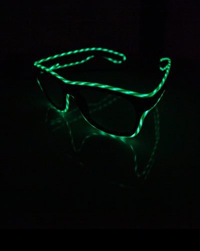 Electric Styles  Light Up Motion el wire Glasses