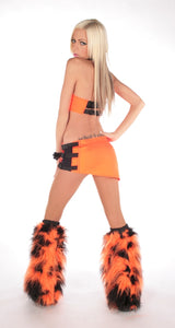 Geo Outfit Black and Orange 2