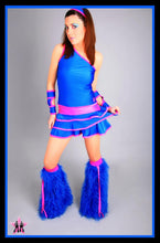 Shimmy Blue & Purple Outfit