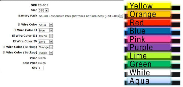 Bra Options