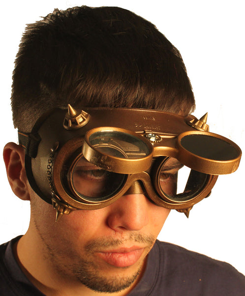 Steampunk Goggles - Outside Gear 2 Chains