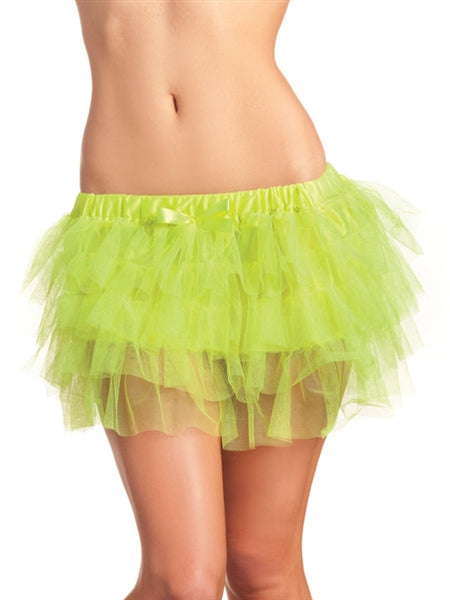 Tiered Lime Green Petticoat