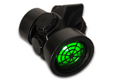 LED Respirator Gas Mask- Double Tank
