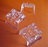 Sign Holders Track Shelf Clip -Plastic Sign Holder-4 Way -100 pieces - screengemsinc