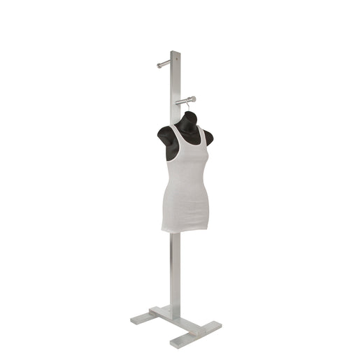 2-Arm Adjustable Costumer Rack Retailer Store Fixture