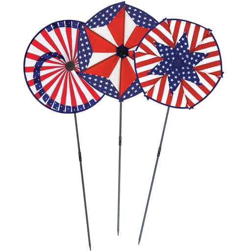 2020 Election Red, White & Blue Patriotic Pin Wheels