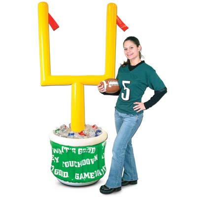 Football Inflatable Goal Post Display or Cooler