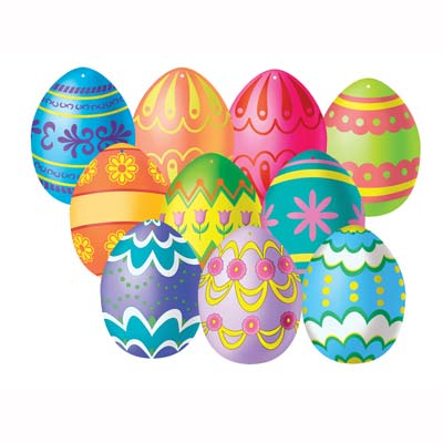 Easter Egg Price Cards Shelf Signs
