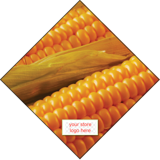 Produce Ceiling Danglers- Corn
