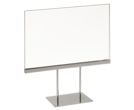 7 x 11 Pedestal Sign Holder Horizontal