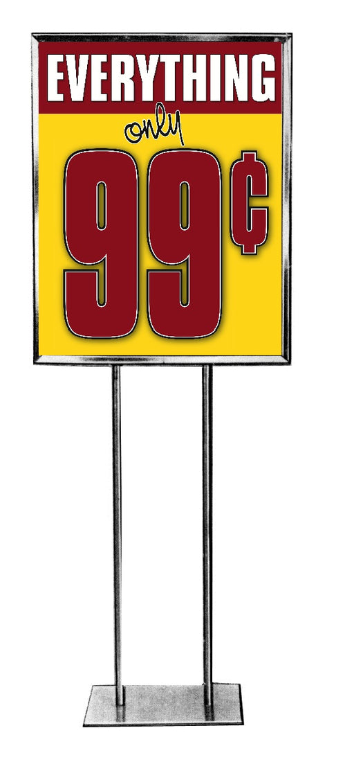 99 Cents Floor Stand Standard Poster