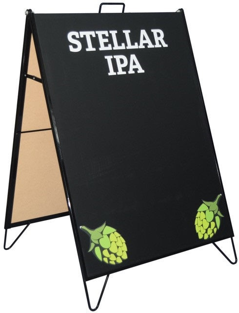 A-Frame Sign Holder & Chalkboard Sign