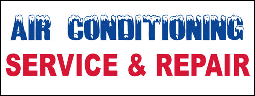 Air Conditioning Service & Repair Banner