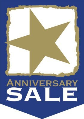 "Anniversary Sale Event Pennants-14""W x 20""H -2 pieces"