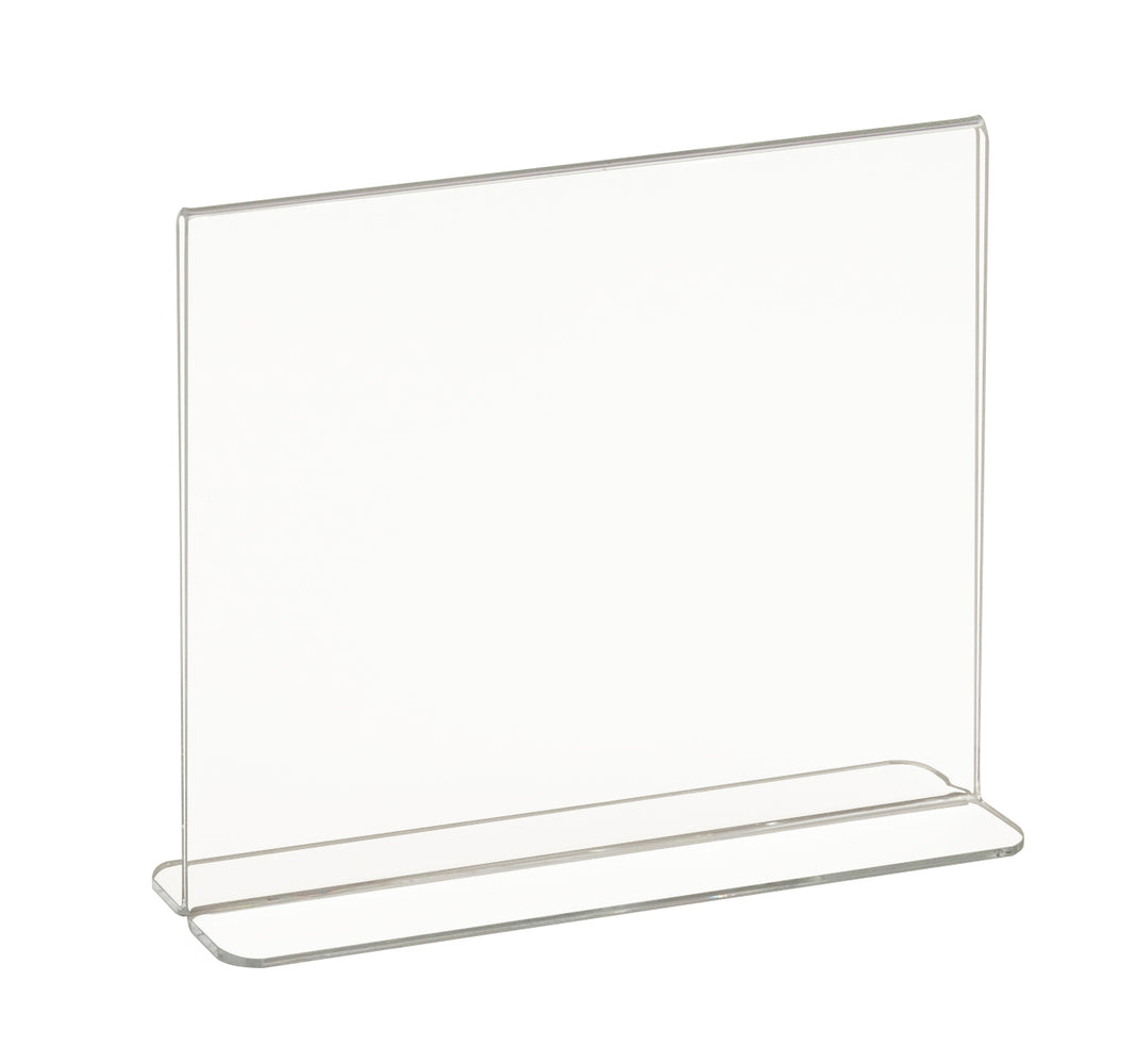 "Acrylic Counter Top Sign Holders-11""W x 8-1/2""H -12 pieces"