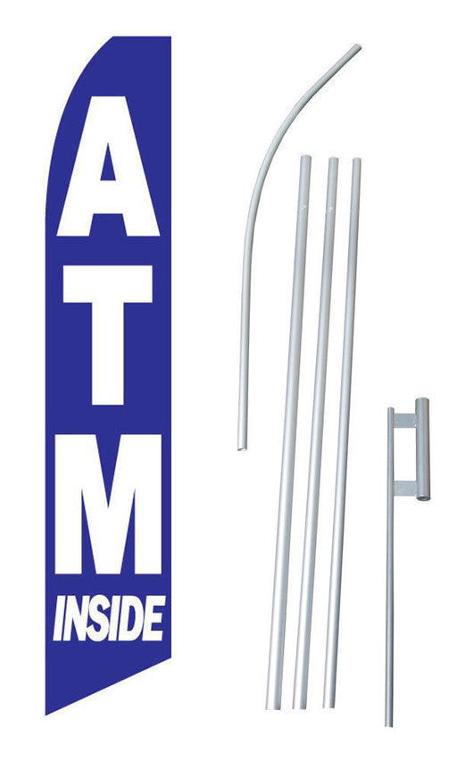 ATM Feather Flag Kit