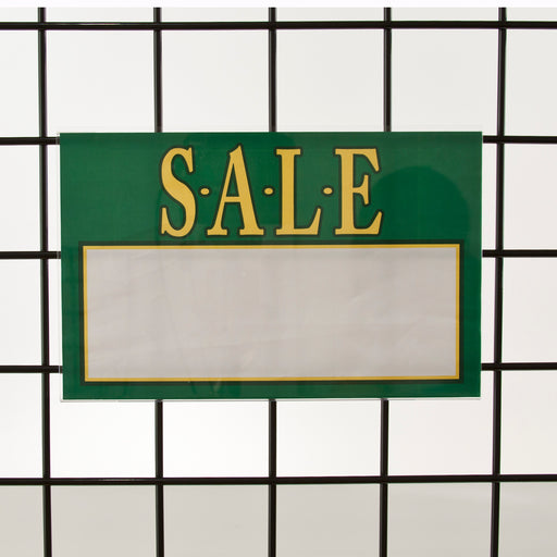 "Acrylic Sign Holders for Gridwall-11""W x 7""H-24 pieces"